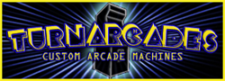 Turnarcades custom arcade machines