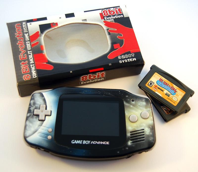 Custom Game Boy Advance by 8bit Evolution - Retro Games